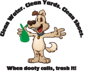 Clean Water, Clean Yards, Clean Shoes Logo
